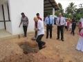 CCC house - laying foundation stone - Phase 2